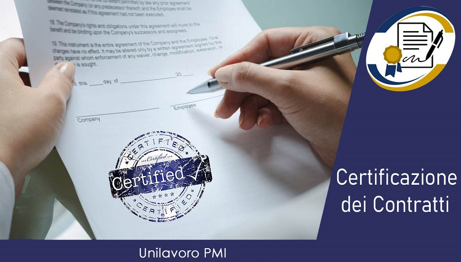 Certificazione Copntratti 3 Nazionale GIUSTO