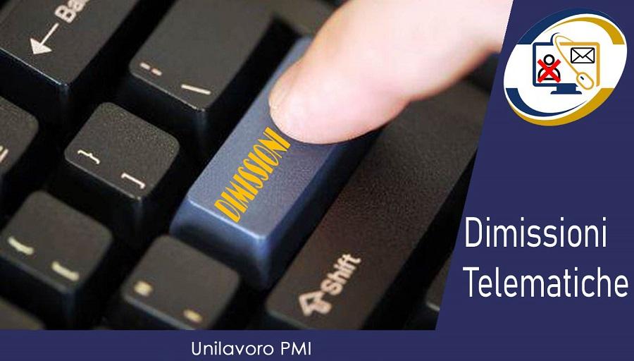 Dimissioni telematiche Unilavoro Nazionale GIUSTO